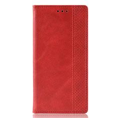Samsung Galaxy M21用手帳型 レザーケース スタンド カバー L02 サムスン レッド
