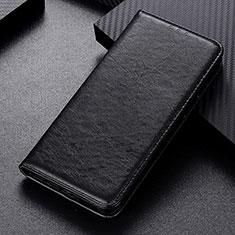 Samsung Galaxy M21用手帳型 レザーケース スタンド カバー L05 サムスン ブラック