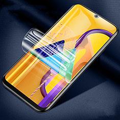 Samsung Galaxy M21用高光沢 液晶保護フィルム フルカバレッジ画面 サムスン クリア