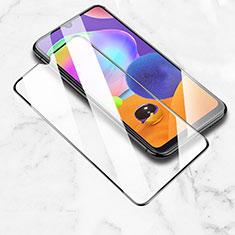 Samsung Galaxy M21用強化ガラス フル液晶保護フィルム サムスン ブラック