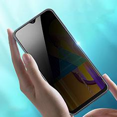 Samsung Galaxy M21用反スパイ 強化ガラス 液晶保護フィルム サムスン クリア