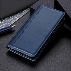 Samsung Galaxy M21s用手帳型 レザーケース スタンド カバー L02 サムスン ネイビー