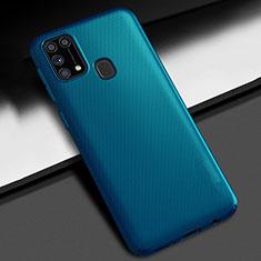 Samsung Galaxy M21s用ハードケース プラスチック 質感もマット カバー M02 サムスン ネイビー
