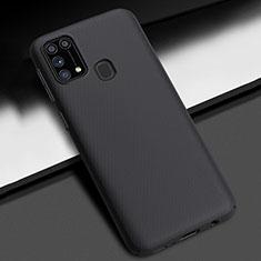 Samsung Galaxy M21s用ハードケース プラスチック 質感もマット カバー M02 サムスン ブラック