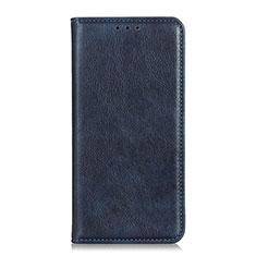 Samsung Galaxy M31 Prime Edition用手帳型 レザーケース スタンド カバー L01 サムスン ネイビー