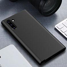 Samsung Galaxy Note 10 5G用360度 フルカバー極薄ソフトケース シリコンケース 耐衝撃 全面保護 バンパー サムスン ブラック