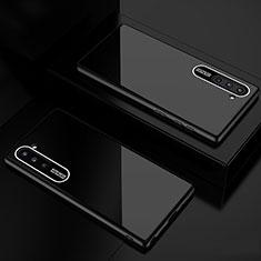 Samsung Galaxy Note 10 5G用ハイブリットバンパーケース プラスチック 鏡面 カバー M01 サムスン ブラック