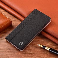 Samsung Galaxy Note 10 5G用手帳型 レザーケース スタンド カバー P01 サムスン ブラック
