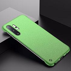 Samsung Galaxy Note 10 Plus 5G用ハードケース プラスチック 質感もマット カバー P01 サムスン グリーン