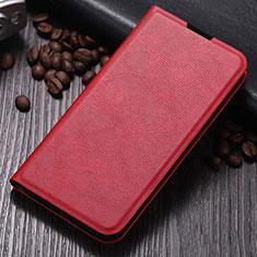 Samsung Galaxy Note 10 Plus 5G用手帳型 レザーケース スタンド カバー T06 サムスン レッド