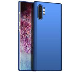 Samsung Galaxy Note 10 Plus用ハードケース プラスチック 質感もマット カバー M02 サムスン ネイビー