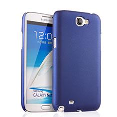 Samsung Galaxy Note 2 N7100 N7105用ハードケース プラスチック 質感もマット サムスン ネイビー