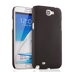Samsung Galaxy Note 2 N7100 N7105用ハードケース プラスチック 質感もマット サムスン ブラック