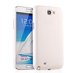Samsung Galaxy Note 2 N7100 N7105用ハードケース プラスチック 質感もマット サムスン ホワイト