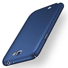 Samsung Galaxy Note 2 N7100 N7105用ハードケース プラスチック 質感もマット M01 サムスン ネイビー