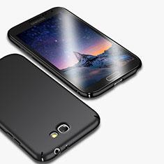 Samsung Galaxy Note 2 N7100 N7105用ハードケース プラスチック 質感もマット M01 サムスン ブラック