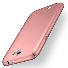 Samsung Galaxy Note 2 N7100 N7105用ハードケース プラスチック 質感もマット M02 サムスン ローズゴールド