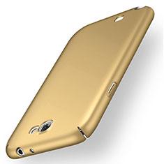 Samsung Galaxy Note 2 N7100 N7105用ハードケース プラスチック 質感もマット M02 サムスン ゴールド