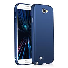 Samsung Galaxy Note 2 N7100 N7105用ハードケース プラスチック 質感もマット M03 サムスン ネイビー