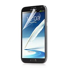 Samsung Galaxy Note 2 N7100 N7105用高光沢 液晶保護フィルム サムスン クリア