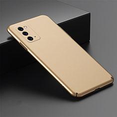 Samsung Galaxy Note 20 5G用ハードケース プラスチック 質感もマット カバー M02 サムスン ゴールド