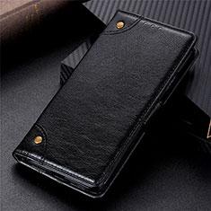 Samsung Galaxy Note 20 5G用手帳型 レザーケース スタンド カバー N10 サムスン ブラック