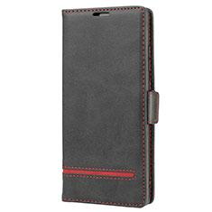 Samsung Galaxy Note 20 5G用手帳型 レザーケース スタンド カバー N11 サムスン ブラック
