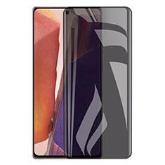Samsung Galaxy Note 20 5G用反スパイ 強化ガラス 液晶保護フィルム サムスン クリア