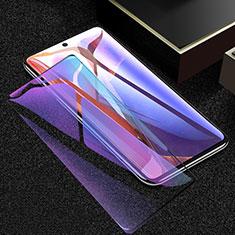 Samsung Galaxy Note 20 5G用強化ガラス フル液晶保護フィルム アンチグレア ブルーライト F02 サムスン ブラック