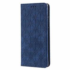 Samsung Galaxy Note 20 Ultra 5G用手帳型 レザーケース スタンド カバー N06 サムスン ネイビー