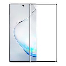 Samsung Galaxy Note 20 Ultra 5G用強化ガラス フル液晶保護フィルム サムスン ブラック