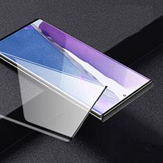 Samsung Galaxy Note 20 Ultra 5G用強化ガラス フル液晶保護フィルム F03 サムスン ブラック