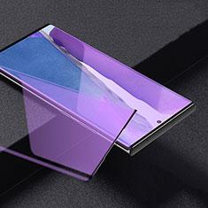 Samsung Galaxy Note 20 Ultra 5G用強化ガラス フル液晶保護フィルム アンチグレア ブルーライト サムスン ブラック