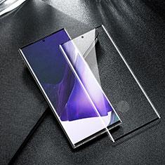 Samsung Galaxy Note 20 Ultra 5G用強化ガラス フル液晶保護フィルム F05 サムスン ブラック