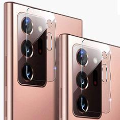 Samsung Galaxy Note 20 Ultra 5G用強化ガラス カメラプロテクター カメラレンズ 保護ガラスフイルム C01 サムスン クリア