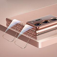Samsung Galaxy Note 20 Ultra 5G用強化ガラス カメラプロテクター カメラレンズ 保護ガラスフイルム C02 サムスン クリア