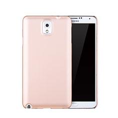 Samsung Galaxy Note 3 N9000用ハードケース プラスチック 質感もマット サムスン ローズゴールド
