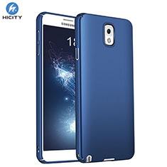 Samsung Galaxy Note 3 N9000用ハードケース プラスチック 質感もマット M01 サムスン ネイビー