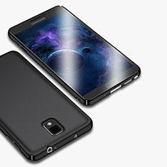 Samsung Galaxy Note 3 N9000用ハードケース プラスチック 質感もマット M01 サムスン ブラック