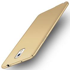 Samsung Galaxy Note 3 N9000用ハードケース プラスチック カバー サムスン ゴールド