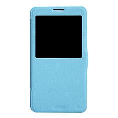 Samsung Galaxy Note 3 N9000用手帳型 レザーケース スタンド L01 サムスン ネイビー