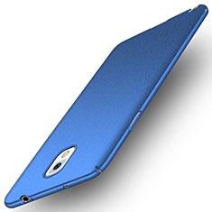 Samsung Galaxy Note 3 N9000用ハードケース プラスチック 質感もマット M03 サムスン ネイビー