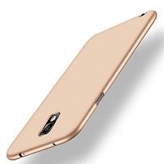 Samsung Galaxy Note 3 N9000用極薄ソフトケース シリコンケース 耐衝撃 全面保護 S02 サムスン ゴールド