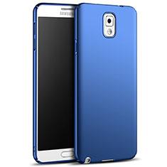 Samsung Galaxy Note 3 N9000用ハードケース プラスチック 質感もマット M05 サムスン ネイビー