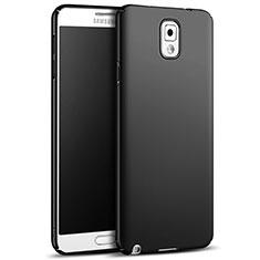 Samsung Galaxy Note 3 N9000用ハードケース プラスチック 質感もマット M05 サムスン ブラック
