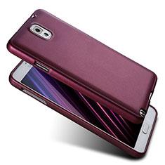 Samsung Galaxy Note 3 N9000用極薄ソフトケース シリコンケース 耐衝撃 全面保護 S03 サムスン パープル