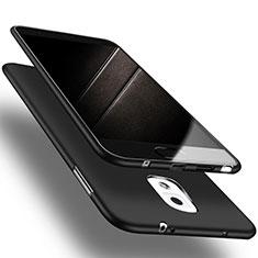 Samsung Galaxy Note 3 N9000用極薄ソフトケース シリコンケース 耐衝撃 全面保護 S04 サムスン ブラック