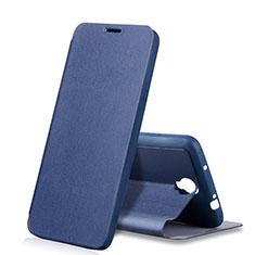 Samsung Galaxy Note 3 Neo N7505 Lite Duos N7502用手帳型 レザーケース スタンド サムスン ネイビー