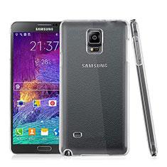 Samsung Galaxy Note 4 Duos N9100 Dual SIM用ハードケース クリスタル クリア透明 サムスン クリア
