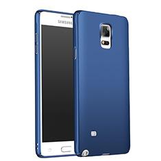 Samsung Galaxy Note 4 Duos N9100 Dual SIM用ハードケース プラスチック 質感もマット M01 サムスン ネイビー
